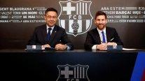 """Presidente de Barcelona: """"Messi me dijo que esta rebaja había que hacerla"""""""