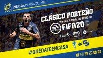 Everton se quedó con el clásico porteño ante Santiago Wanderers de eSports en FIFA 20