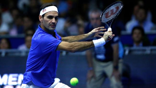 No estoy entrenando, no veo una razón para hacerlo: Roger Federer