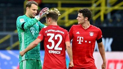 Joshua Kimmich le dio la victoria a Bayern Munich sobre Borussia Dortmund en Alemania