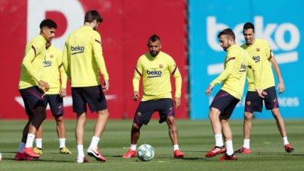 Arturo Vidal: Fue emocionante volver a los entrenamientos