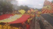 Hinchas de Morelia desafiaron la cuarentena para protestar por cambio de ciudad del club