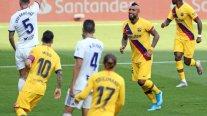 Medio español hizo eco de cariñosa dedicatoria de Arturo Vidal tras su gol frente a Valladolid