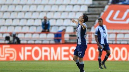 ¡Al ángulo! Víctor Dávila abrió el marcador para Pachuca ante Querétaro