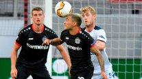Charles Aránguiz quedó suspendido para el duelo de Bayer Leverkusen contra Inter de Alexis