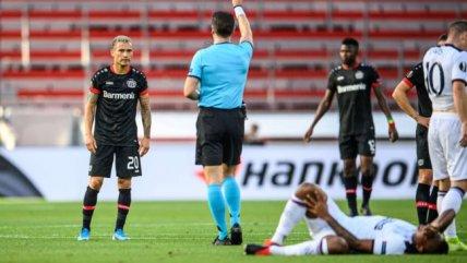 Charles Aránguiz fue titular en cerrada victoria del Leverkusen ante Rangers en la Europa League