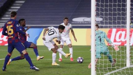 Philippe Coutinho puso el broche al triunfo de Bayern Munich ante FC Barcelona con el octavo gol