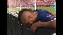 El sufrimiento de Arturo Vidal tras la sexta anotación de Bayern ante FC Barcelona