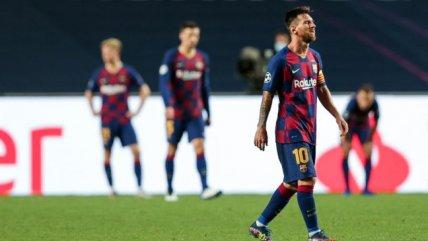 Barcelona tocó fondo y sufrió la peor derrota internacional de su historia ante Bayern Munich