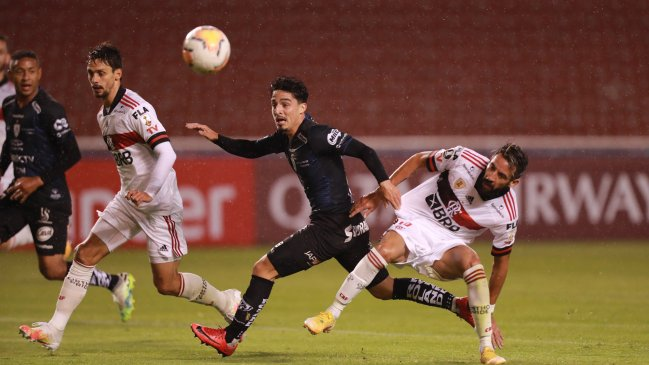 I. del Valle aplastó a Flamengo y amargó el debut de Mauricio Isla en la Copa Libertadores