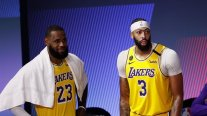 Anthony Davis y LeBron James lideraron triunfo de Los Lakers ante Denver en la final del Oeste