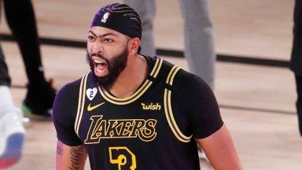 Anthony Davis fue el héroe del sufrido triunfo de Lakers ante Nuggets en la segunda final del Oeste