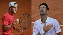 Novak Djokovic y Diego Schwartzman disputarán el título del Masters de Roma en atractiva final
