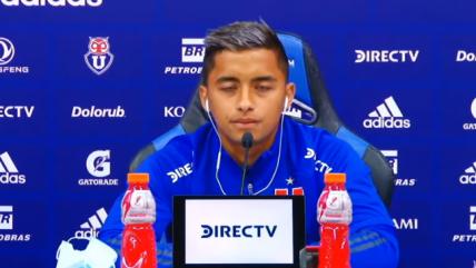 Nicolás Guerra: Cada vez que entró a la cancha, trato de responder a la confianza del técnico