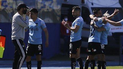 O'Higgins escaló en el Campeonato Nacional con gran victoria sobre U. de Concepción
