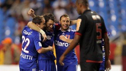 Se cumplieron nueve años de la inolvidable goleada de la U sobre el Flamengo de Ronaldinho