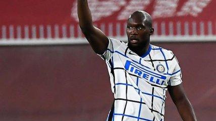 """Romelu Lukaku se """"echó el equipo al hombro"""" en triunfo de Inter sobre Genoa en Serie A"""