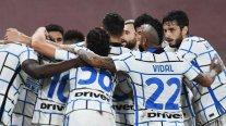 Inter de Milán volvió al triunfo a costa de Genoa con un correcto desempeño de Arturo Vidal