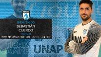 Deportes Iquique oficializó la contratación del portero Sebastián Cuerdo