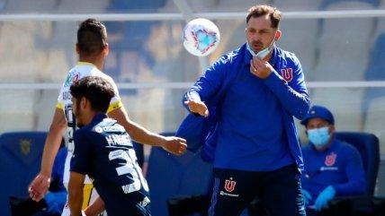 La U perdió ante U. de Concepción y Hernán Caputto quedó pendiendo de un hilo