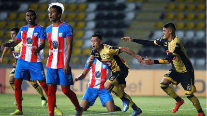 Coquimbo se hizo fuerte como local y dejó contra las cuerdas a Estudiantes de Mérida
