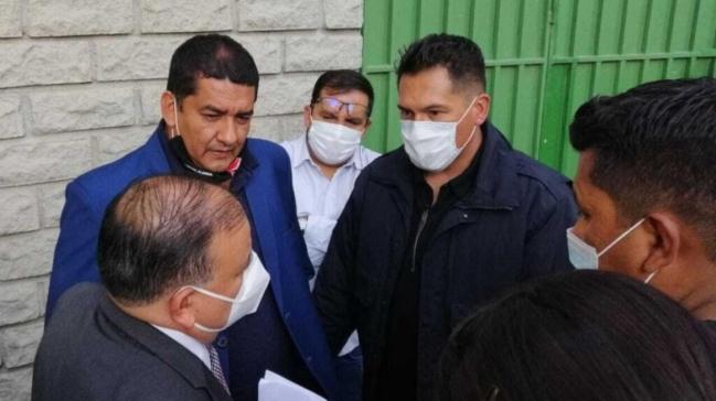 Arrestan al presidente de la Federación Boliviana en pleno partido