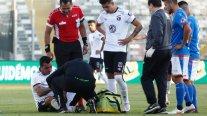 Colo Colo confirmó fractura de Esteban Paredes en su pie izquierdo