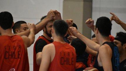 Pensando en Argentina y Venezuela: La Roja de baloncesto tuvo su primera práctica en Buenos Aires