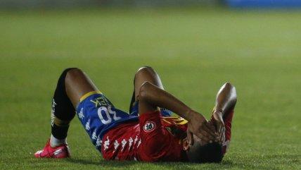 Mala noche para Unión Española: Cayó ante O'Higgins y perdió a Cristian Palacios por lesión