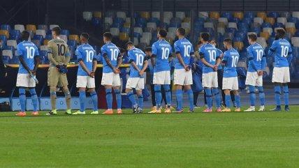 ¡Todos con la 10! El homenaje de Napoli a Diego Maradona previo a su duelo ante Rijeka