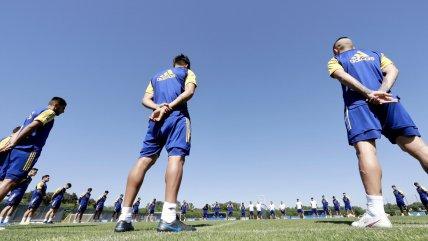 Plantel de Boca Juniors dedicó emotivo minuto de silencio por Diego Maradona