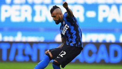 Con Alexis y Vidal: La formación que presentará Inter de Milán contra Sassuolo en la Serie A