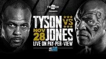 Mike Tyson intentará rememorar sus días de gloria en exhibición ante Roy Jones Jr.