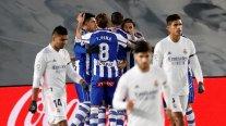 Real Madrid fue sorprendido en casa con dura derrota ante Alavés