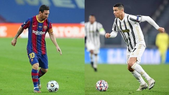 Messi y Cristiano reviven una rivalidad histórica, ahora en la Champions League