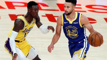 Stephen Curry se impuso a LeBron James en sorpresivo triunfo de Warriors ante Lakers