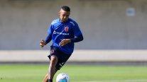 Gabriel Torres se integró a los entrenamientos de U. de Chile en el Centro Deportivo Azul