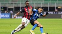 Inter de Alexis y Vidal enfrenta a AC Milan por los cuartos de final de la Copa Italia