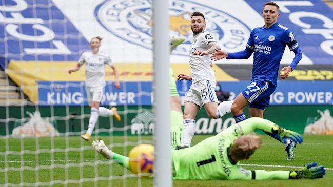 Leeds de Bielsa logró sólida remontada en su visita a Leicester City por Premier League