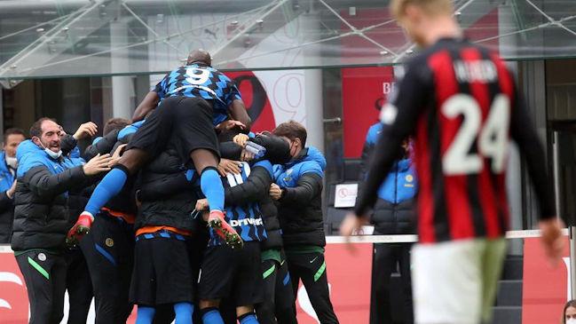 Lautaro Martínez comanda goleada del Inter al Milán