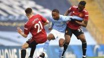 Manchester City busca acercarse al título de la Premier en el clásico ante el United
