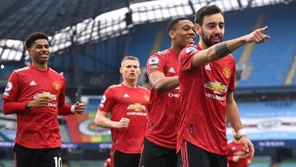 Manchester se tinó de rojo tras vibrante victoria del United contra el City en la Premier League
