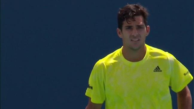 Cristian Garin dejó escapar el triunfo ante Marin Cilic en la segunda ronda del Masters de Miami