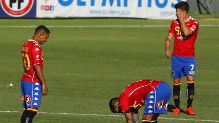 Unión Española cayó ante Melipilla y sufrió otra derrota
