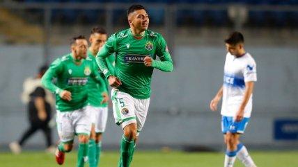 Fabián Torres anotó de cabeza el único tanto del triunfo de Audax Italiano ante U. Católica