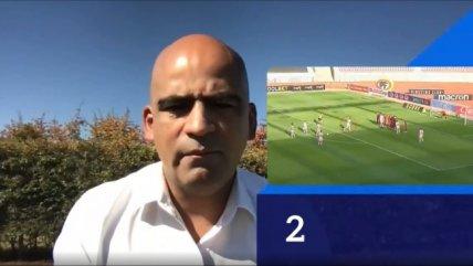 Jorge Osorio explicó de manera didáctica la anulación del gol de Universidad de Chile