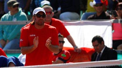 Nicolás Massú también felicitó a la Roja Femenina: Uno se siente feliz por cómo representan a la bandera