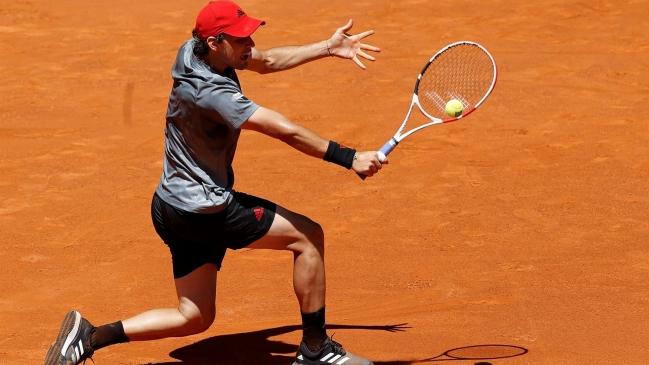 Dominic Thiem superó con exigencias a John Isner y avanzó a semifinales en Madrid