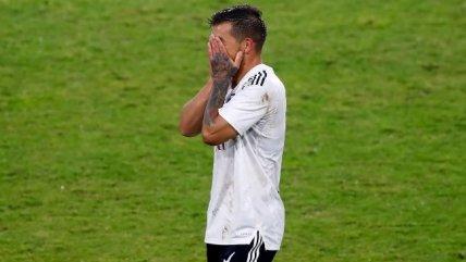 La desazón de Colo Colo tras tropezar en un controvertido encuentro ante Palestino