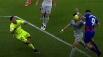 Bravo fue criticado por tener responsabilidad en el gol del empate de Eibar contra Betis
